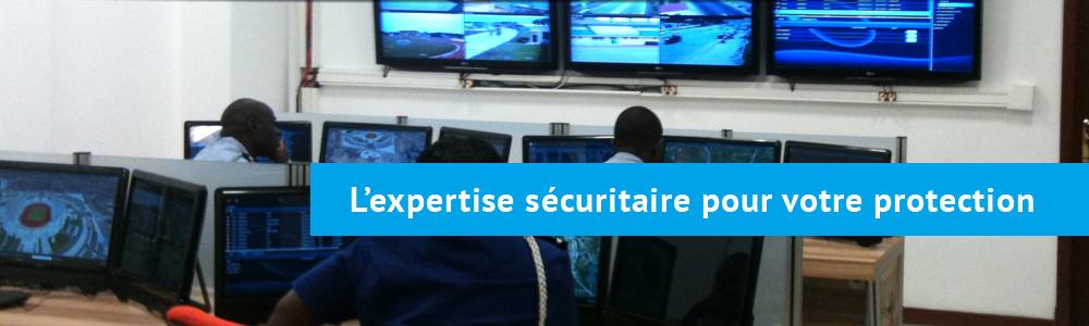 Image slide : L'expertise sécuritaire pour votre protection.