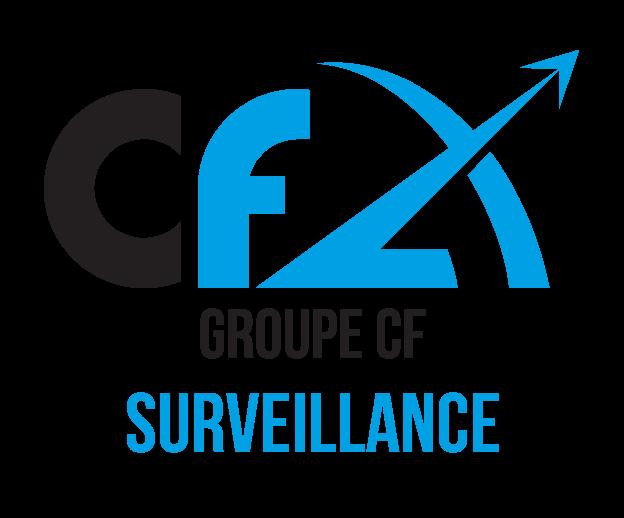 Nouveau logo : Groupe CF Surveillance (anciennement Géode)